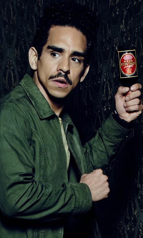 Ray Santiago as Pablo Simon Bolivar in the Starz series ASH VS EVIL DEAD