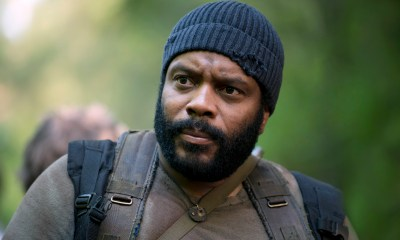 Chad Coleman and Tyreese - The Walking Dead _ Season 5, Episode - Photo Credit: Gene Page/AMC