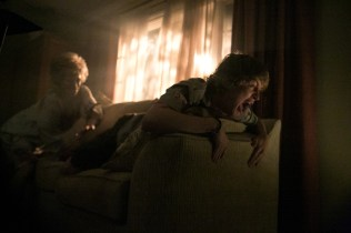 Left to right: Cloris Leachman plays Ms. Fielder and Logan Miller plays Carter in SCOUTS GUIDE TO THE ZOMBIE APOCALYPSE from Paramount Pictures.