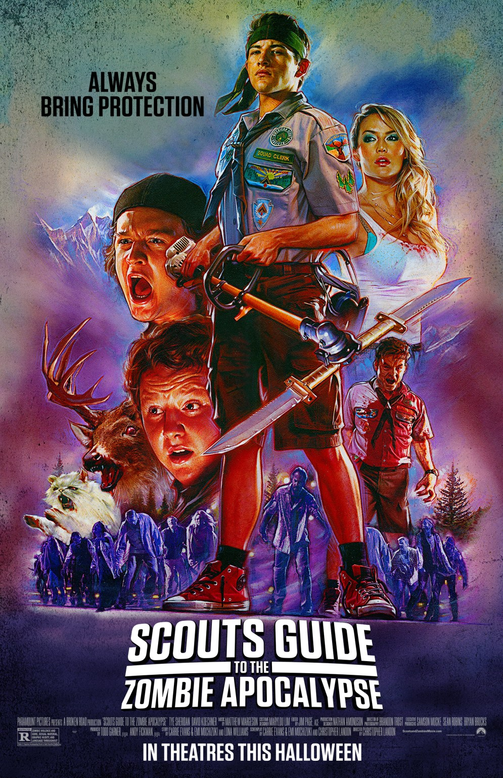 scouts guide to the zombie apocalypse' image gallery! - bloody