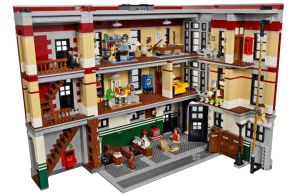 Ghostbusters Firehouse Headquarters via LEGO
