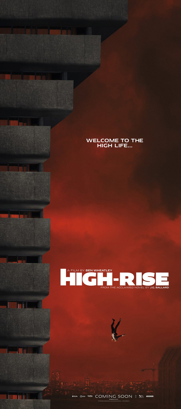 HIGH-RISE poster courtesy of StudioCanal