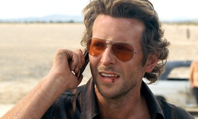 Bradley Cooper in the Hangover via Warner bros