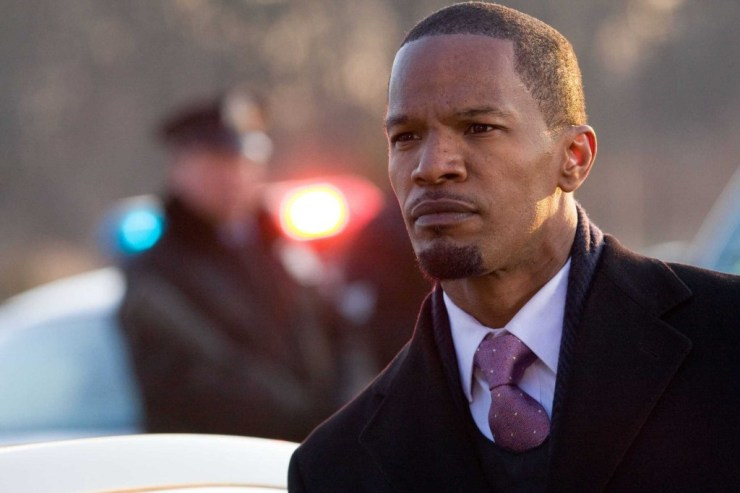 Jamie Foxx  stars  in Overture FilmsÕ LAW ABIDING CITIZEN.
