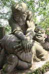 Devil Statues