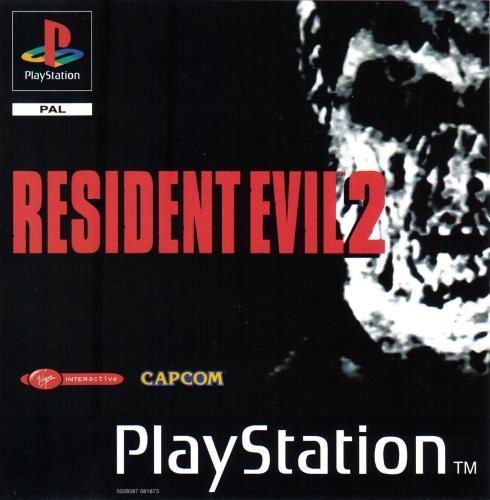 Risultati immagini per resident evil 2 cover