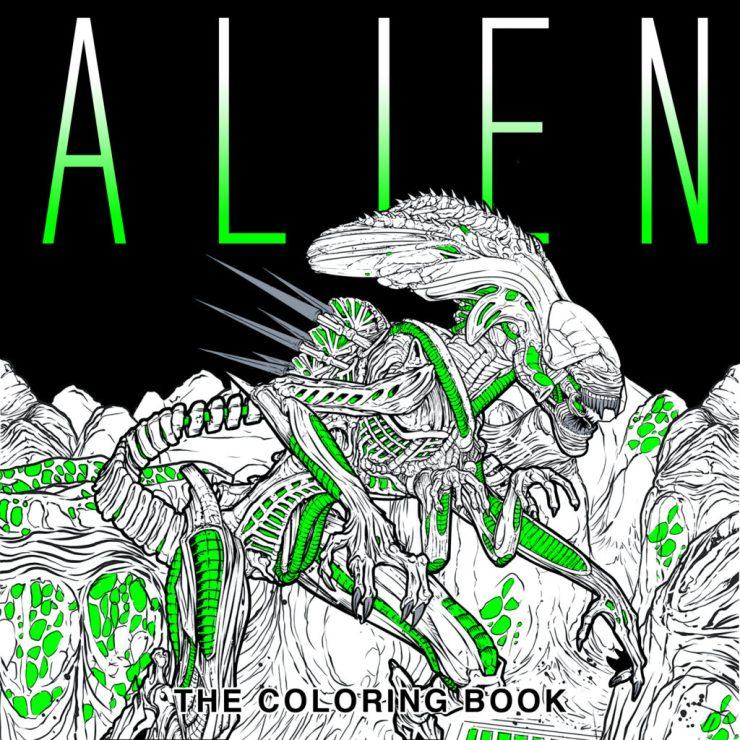 Alien-ColoringBook