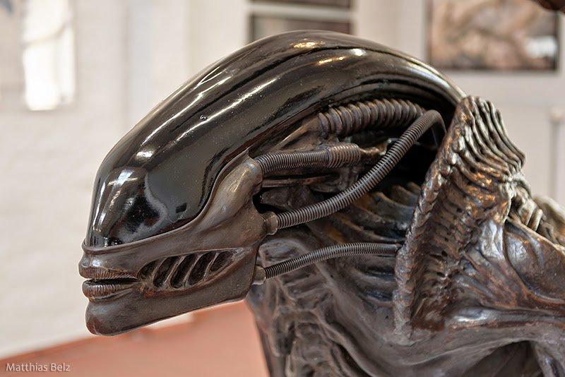Random Cool: Here is Giger's Unused Xenomorph From 'Alien ... H.r. Giger Queen Alien