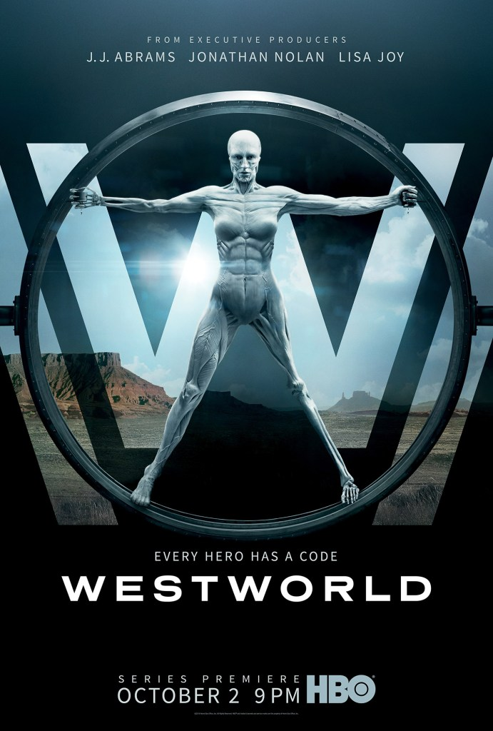 westworld Vitruvian man