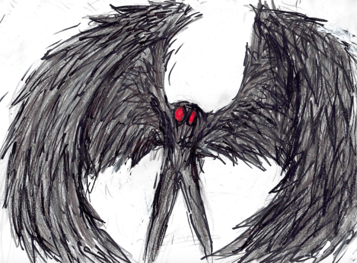 mothman-art