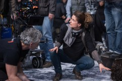 Director Anna Foerster on the set of Screen Gems' UNDERWORLD: BLOOD WARS.