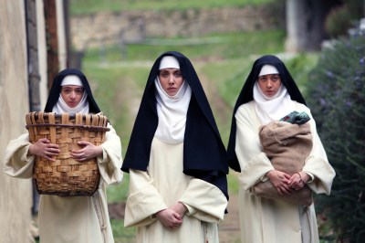 Alison Brie, Kate Micucci and Aubrey Plaza appear in The Little Hours by Jeff Baena, an official selection of the Midnight program at the 2017 Sundance Film Festival. © 2016 Sundance Institute.