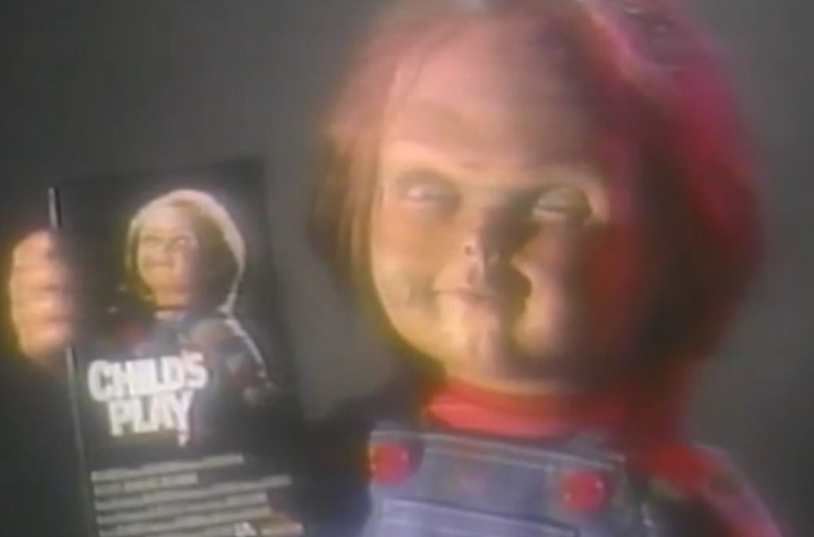 [Vintage Video] Check Out Rare Footage from 1989 'Child's Play' VHS Screener - Bloody Disgusting