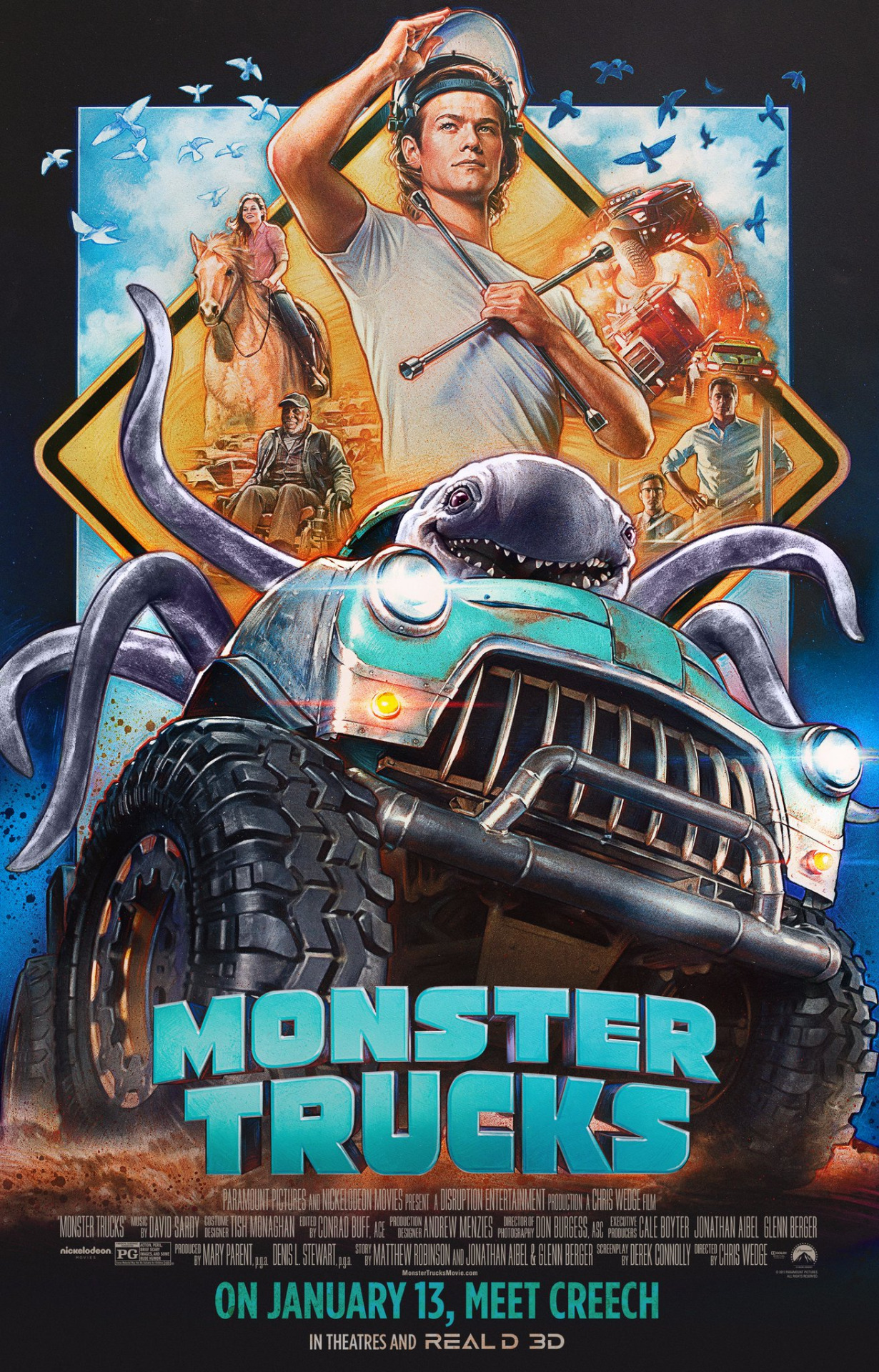 I Genuinely Want To See 39monster Trucks39 And Here39s Why Bloody. Monster Trucks Youtube   histat us
