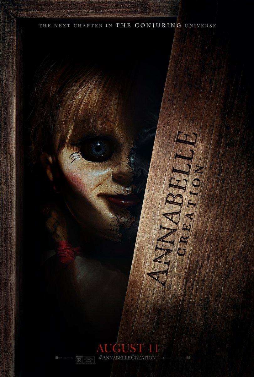 ANNABELLE CREATION POSTER via Warner Bros.