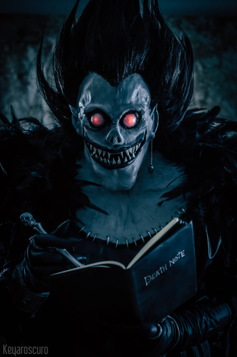 This Incredible Death Note Cosplay Should Hold You Off