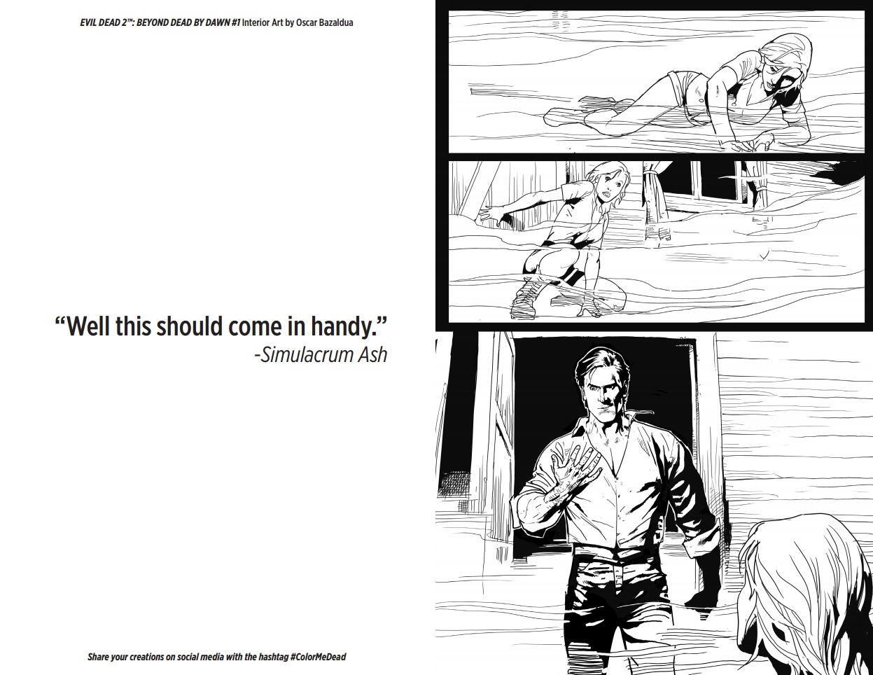 peek inside pages of upcoming u0027evil dead 2 u0027 coloring book