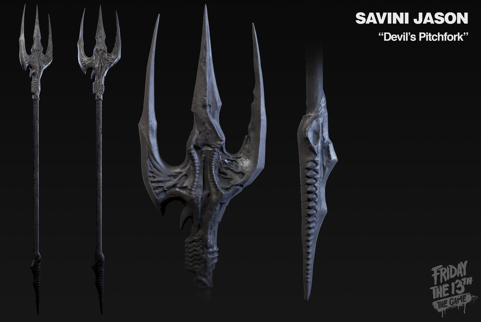 Tom Savini Jason Weapon