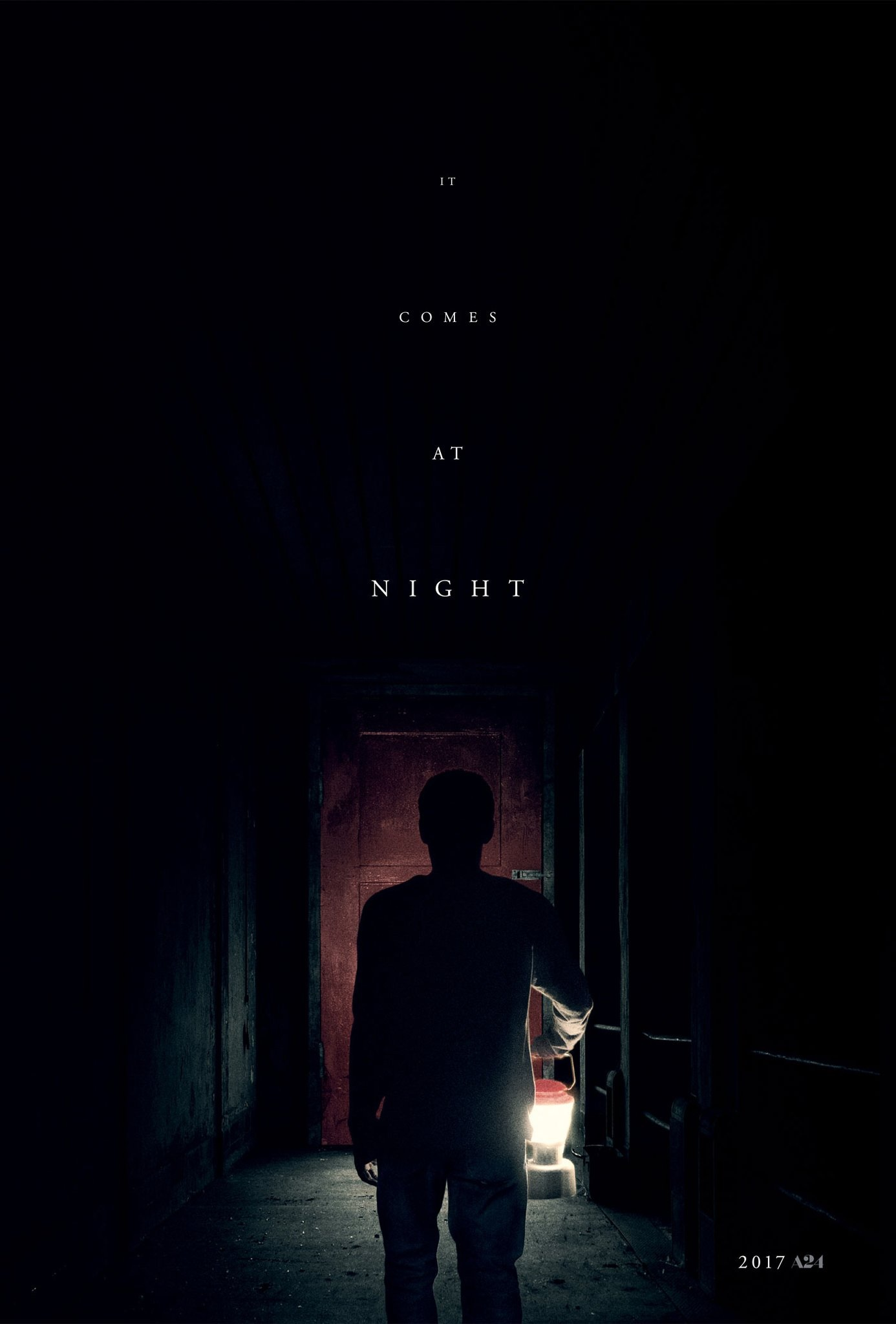 New 'It Comes at Night' Poster Approaches the Red Door of Doom - Bloody Disgusting