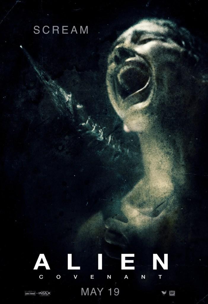 New Alien Covenant Posters Scream In Terror Bloody Disgusting