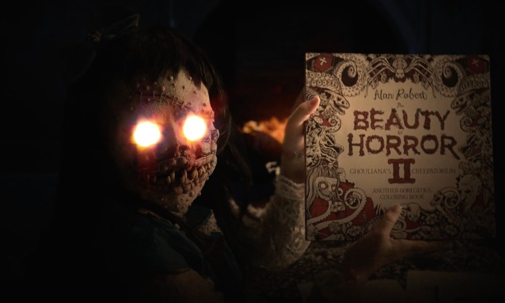 Goregeous Coloring Book The Beauty Of Horror 2 Gets A Trailer