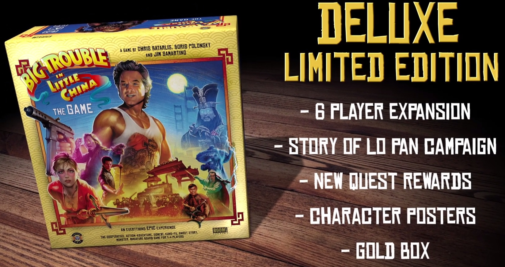 big trouble in little china the board game