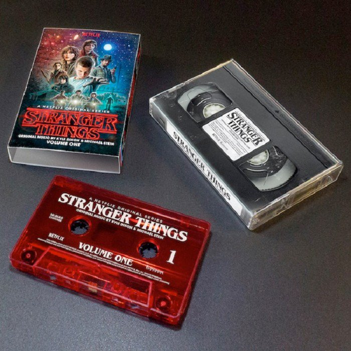 Quot Stranger Things Quot Soundtrack Getting Vhs Inspired Cassette