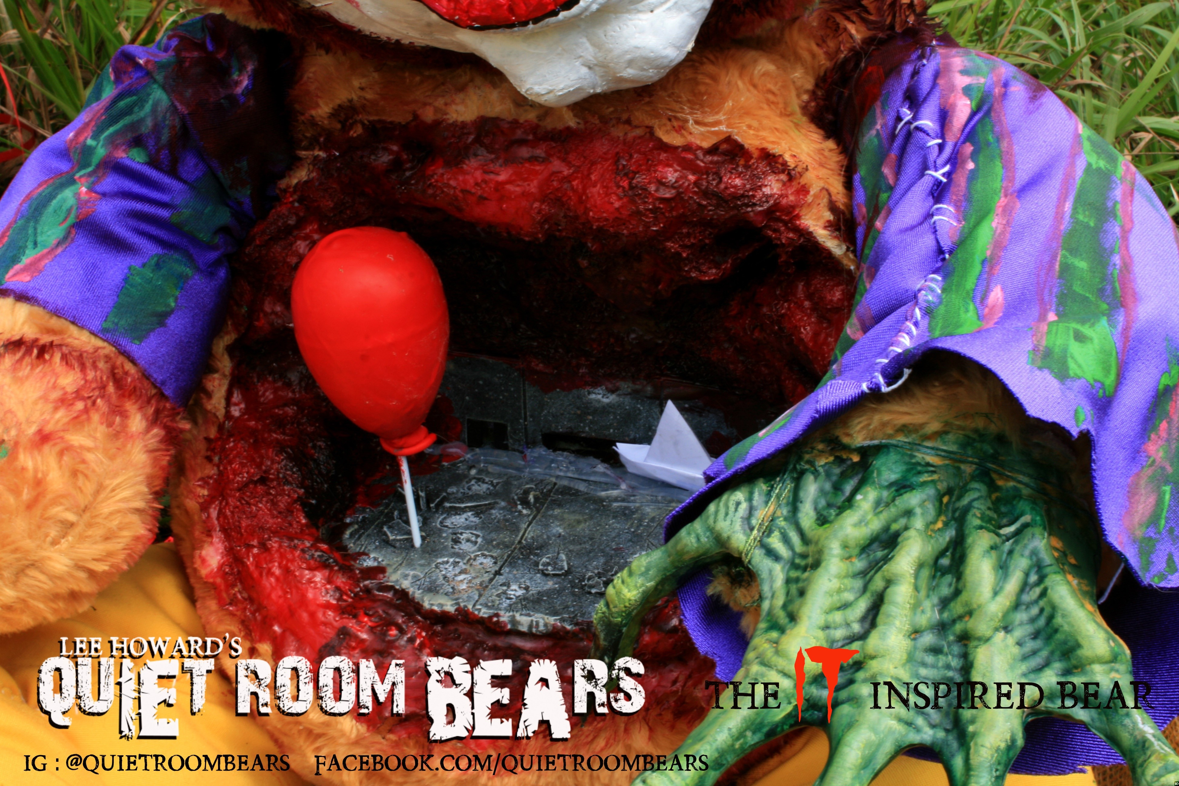 This Custom Made Pennywise Teddy Bear Is The Coolest