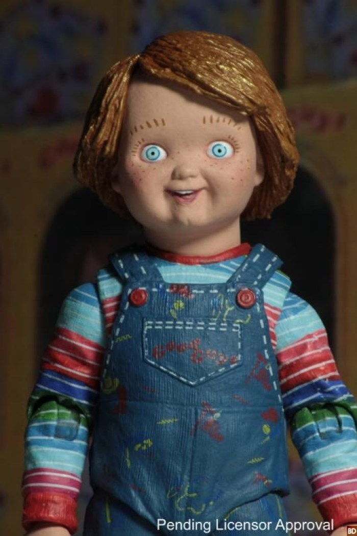 necas ultimate chucky figure comes out to play bloody