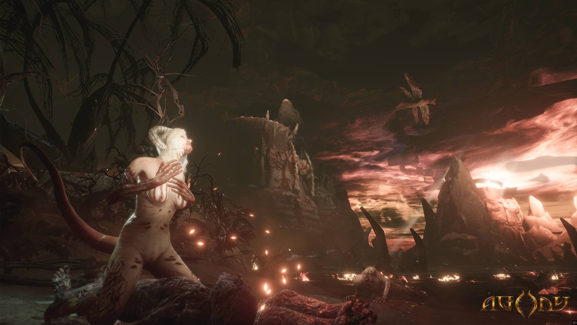 Agony Spawns More Nsfw Screens Bloody Disgusting