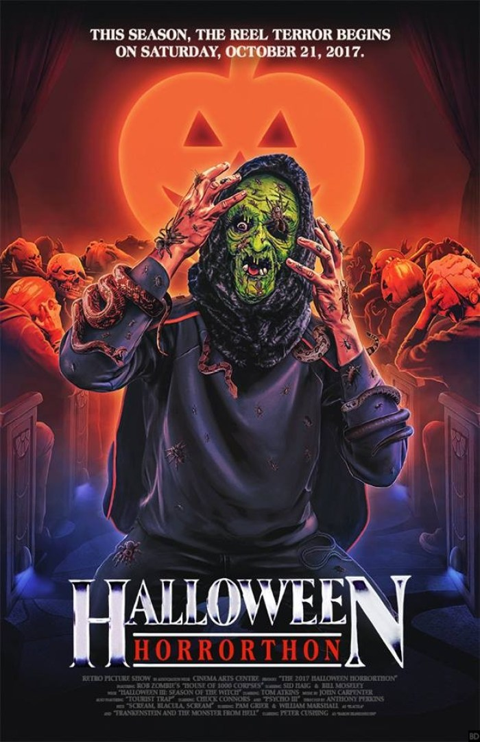 This 'Halloween 3' Art for the 2017 Halloween Horrorthon ...