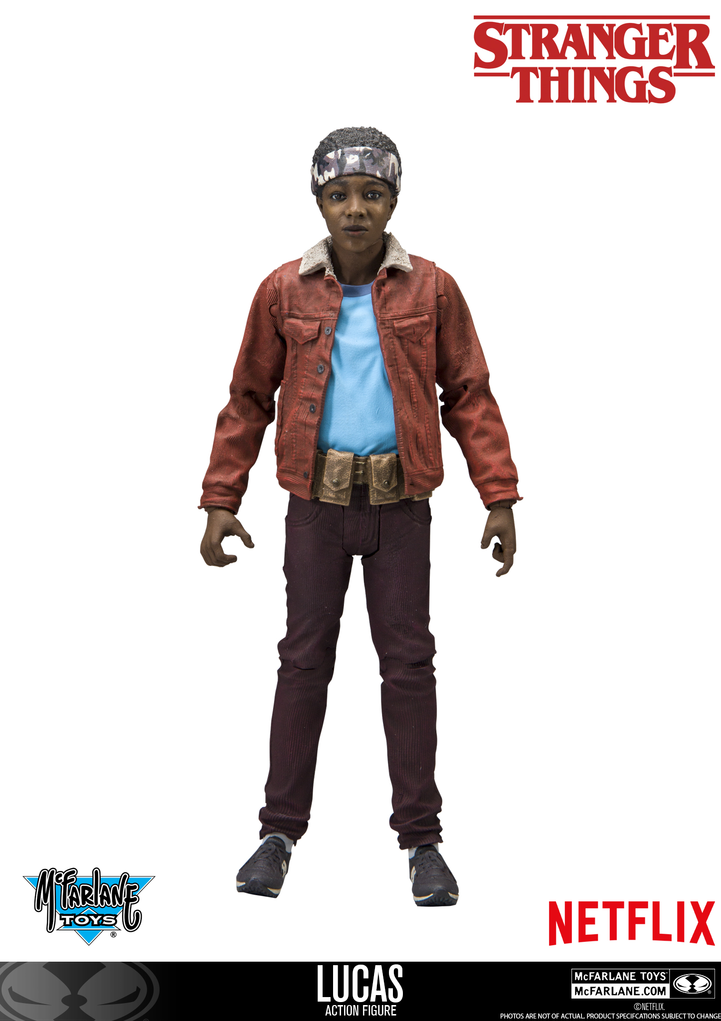 Stranger Things Toys : Here s lucas from mcfarlane quot stranger things action