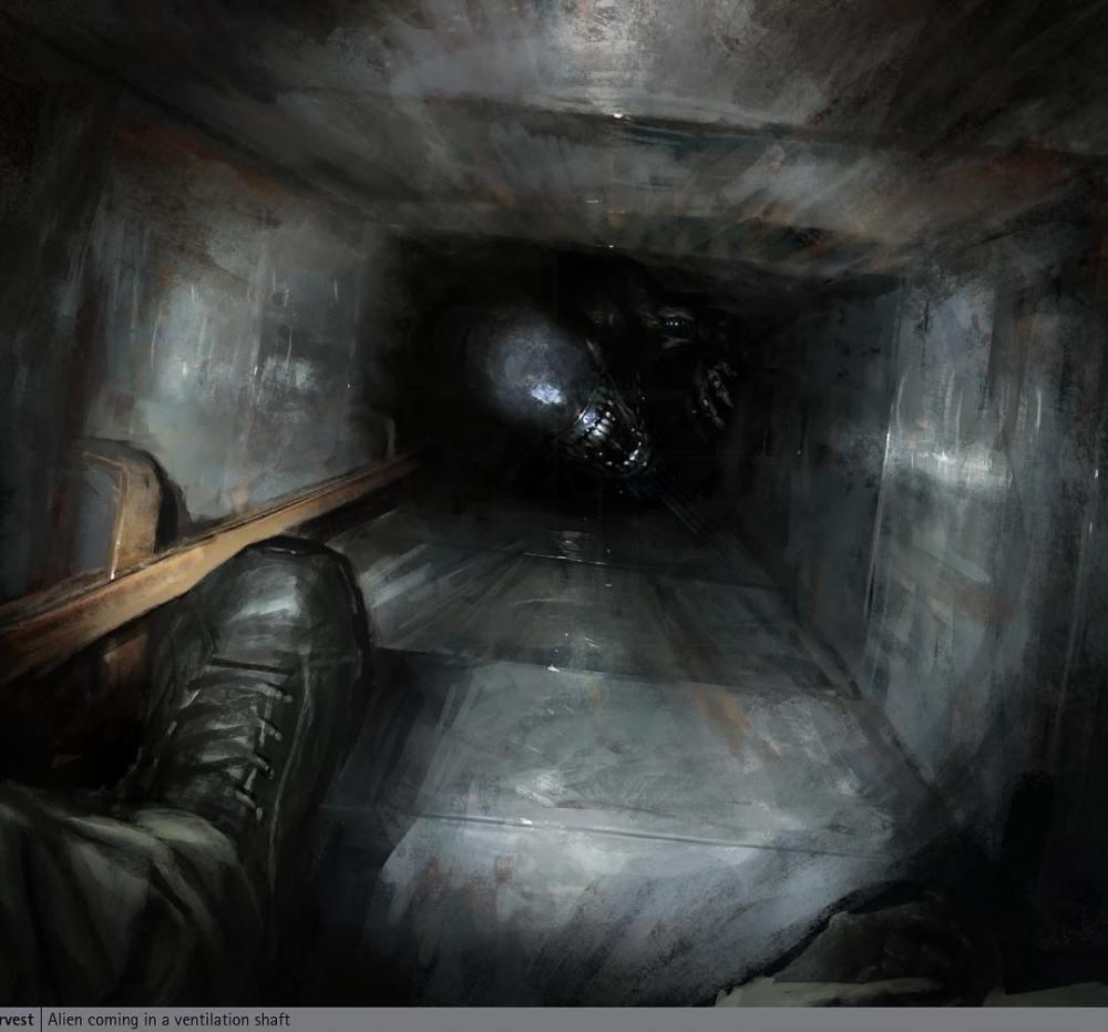 neill blomkamp shares fresh alien 5 concept art bloody