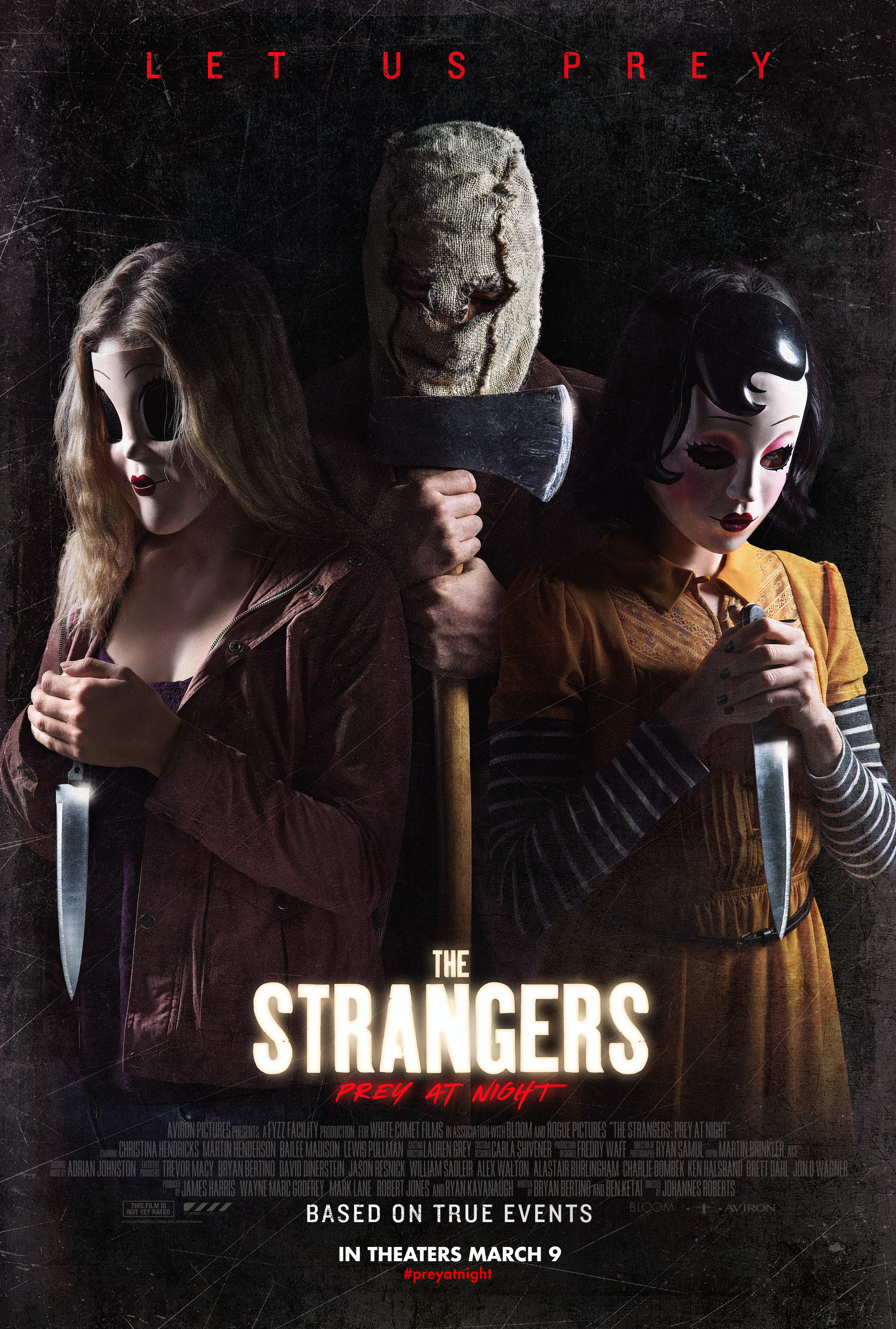Masked Maniacs Come Knocking Again in Full 'The Strangers ...
