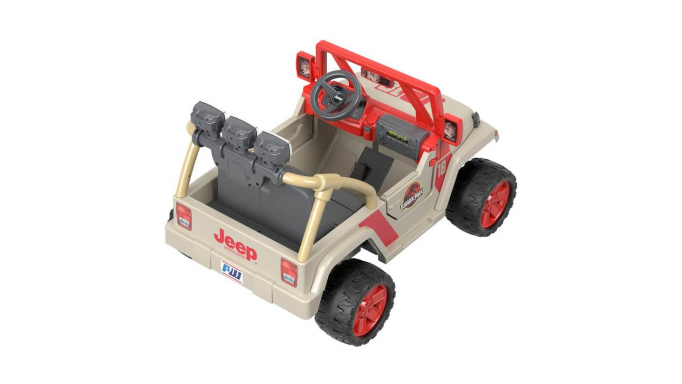Coolest Toy In The World : New jurassic park power wheels jeep is the coolest kids