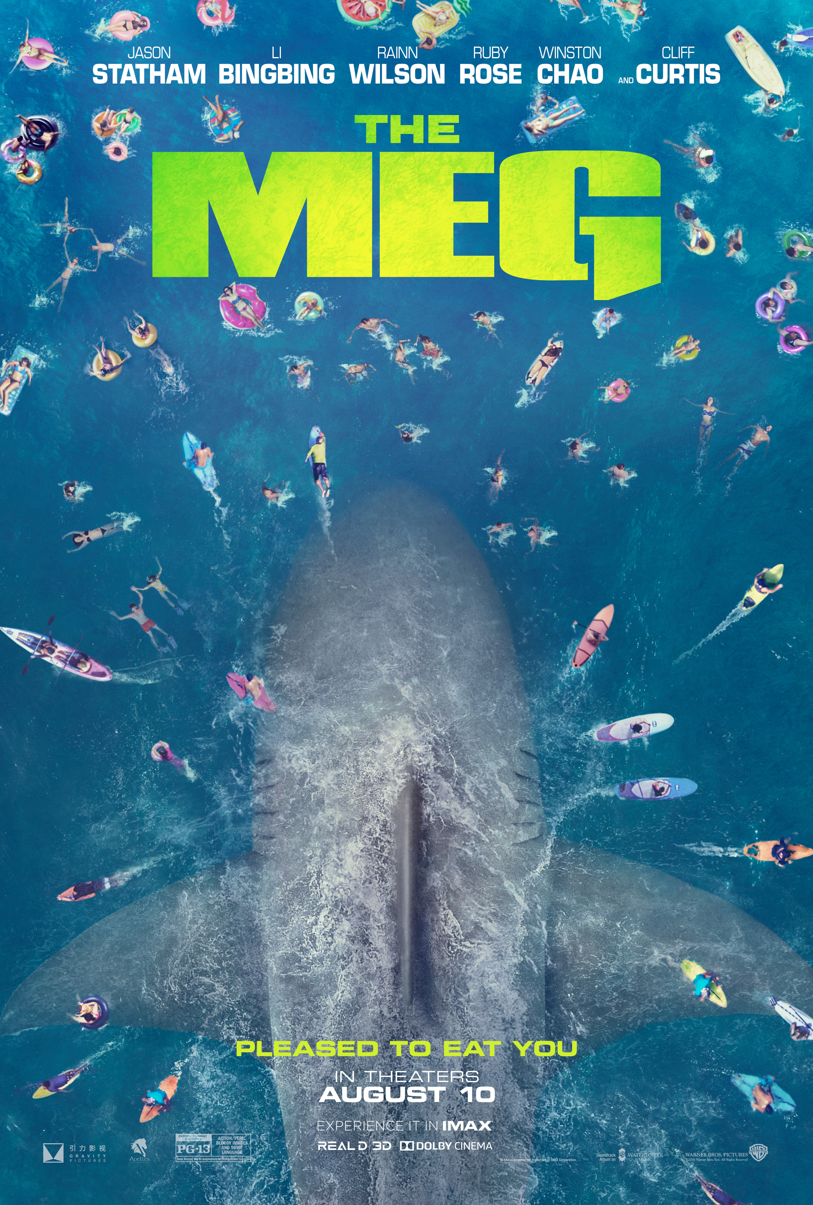 Monstrous 'The Meg' Completely Dwarfs 'Jaws' [Trailer] - Bloody Disgusting