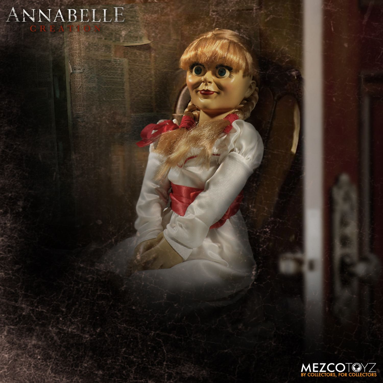 Mezco's 'Annabelle: Creation' Scaled Prop Replica Now Up ...
