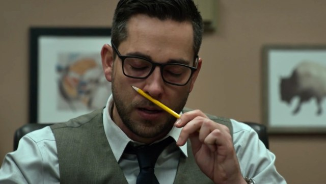 Zachary Levi in Office Uprising (2018)