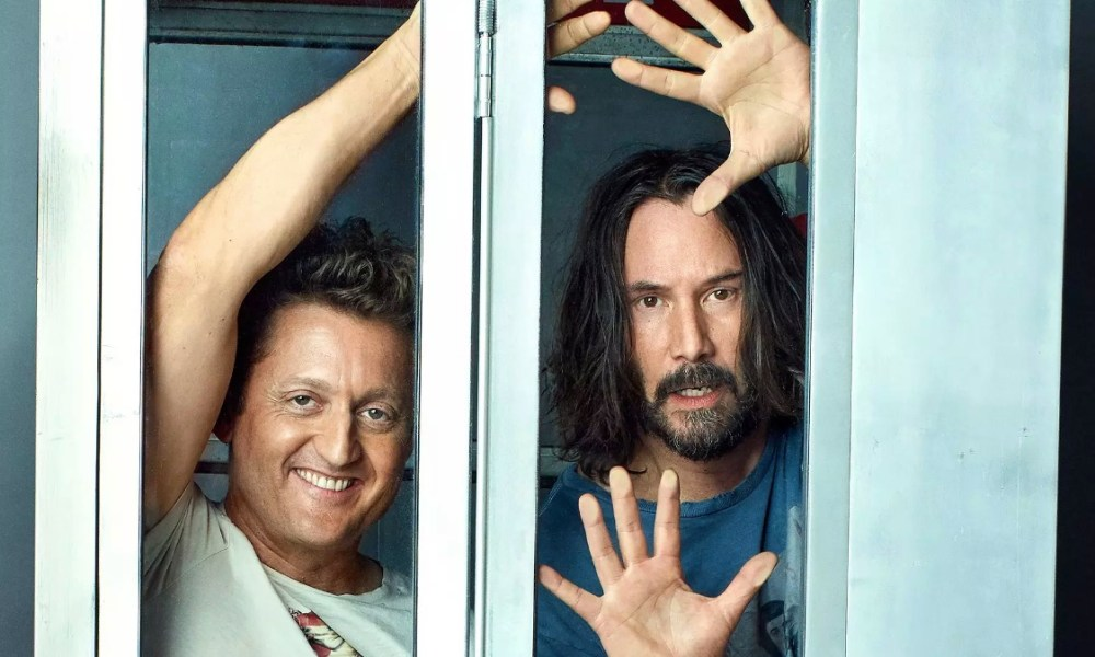 Bill and Ted are officially back!