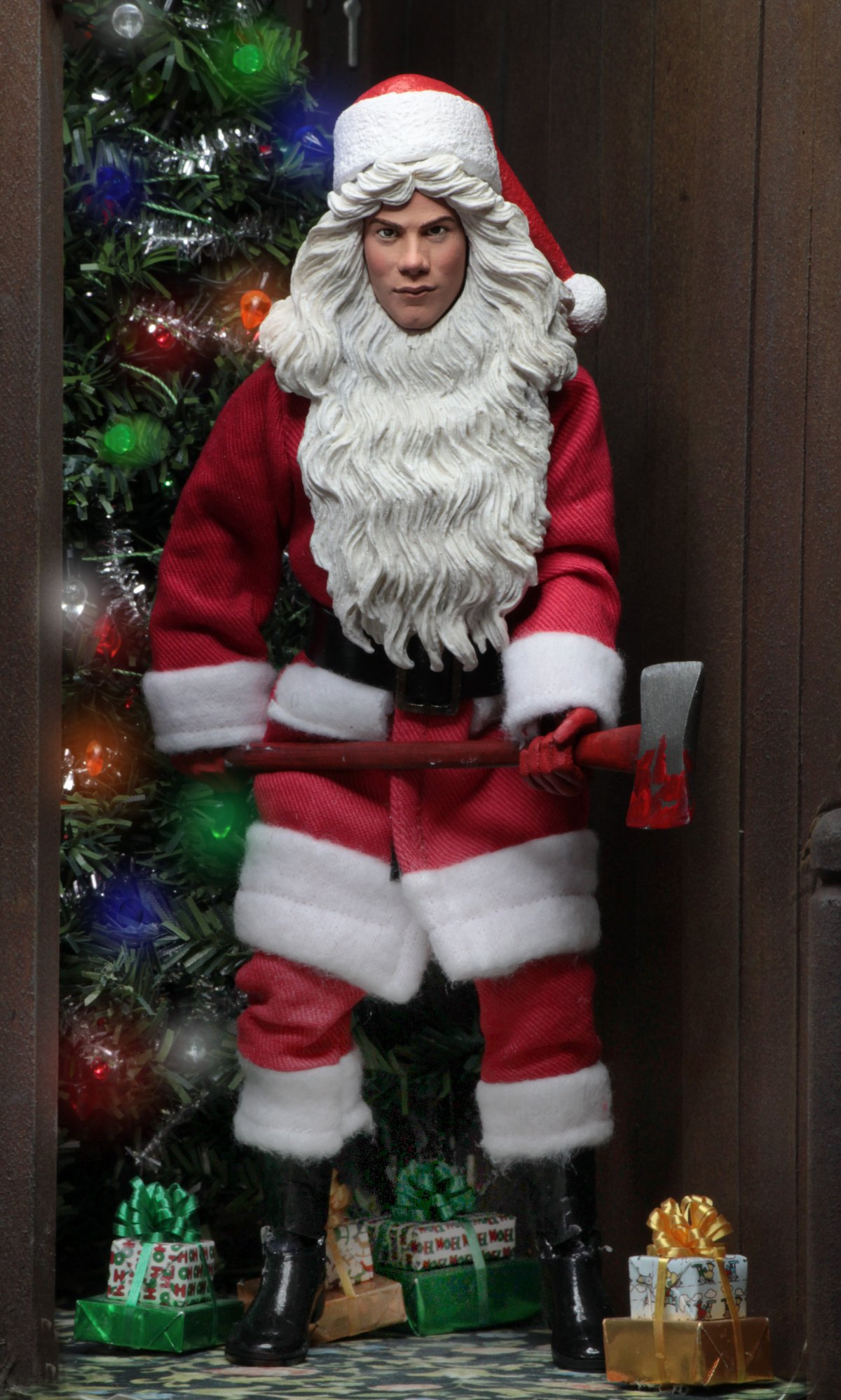 "NECA Silent Night Deadly Night 8/"" Clothed Billy Chapman ACTION FIGURE NEW"