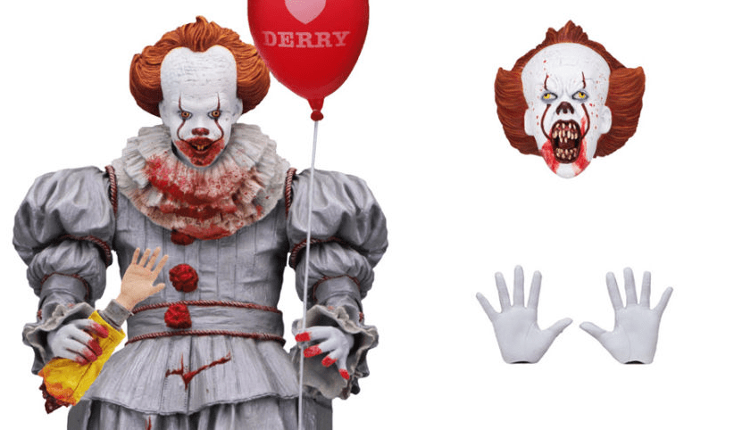 Neca S Pennywise Figure Gets More Gruesome For Gamestop