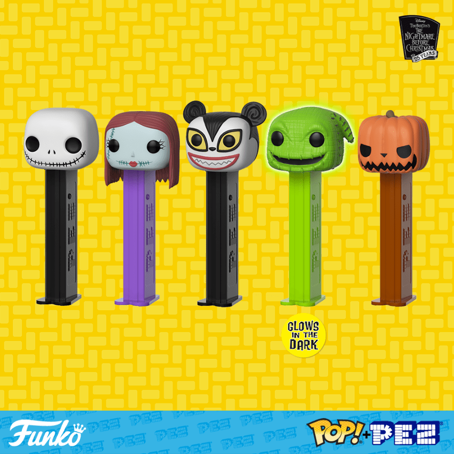 Funko Getting into the PEZ Game With \'Nightmare Before Christmas ...