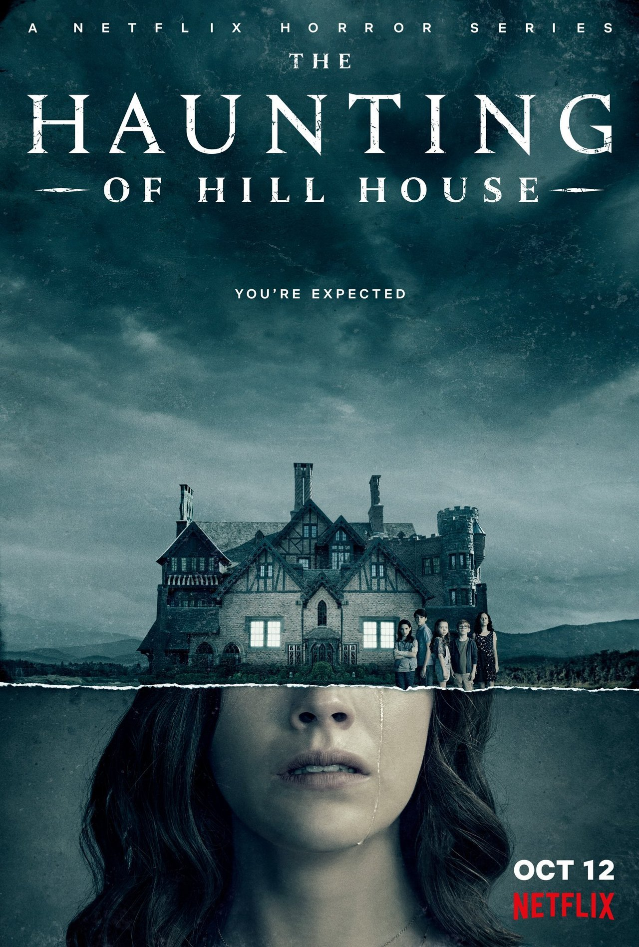 Image result for the haunting of hill house movie poster