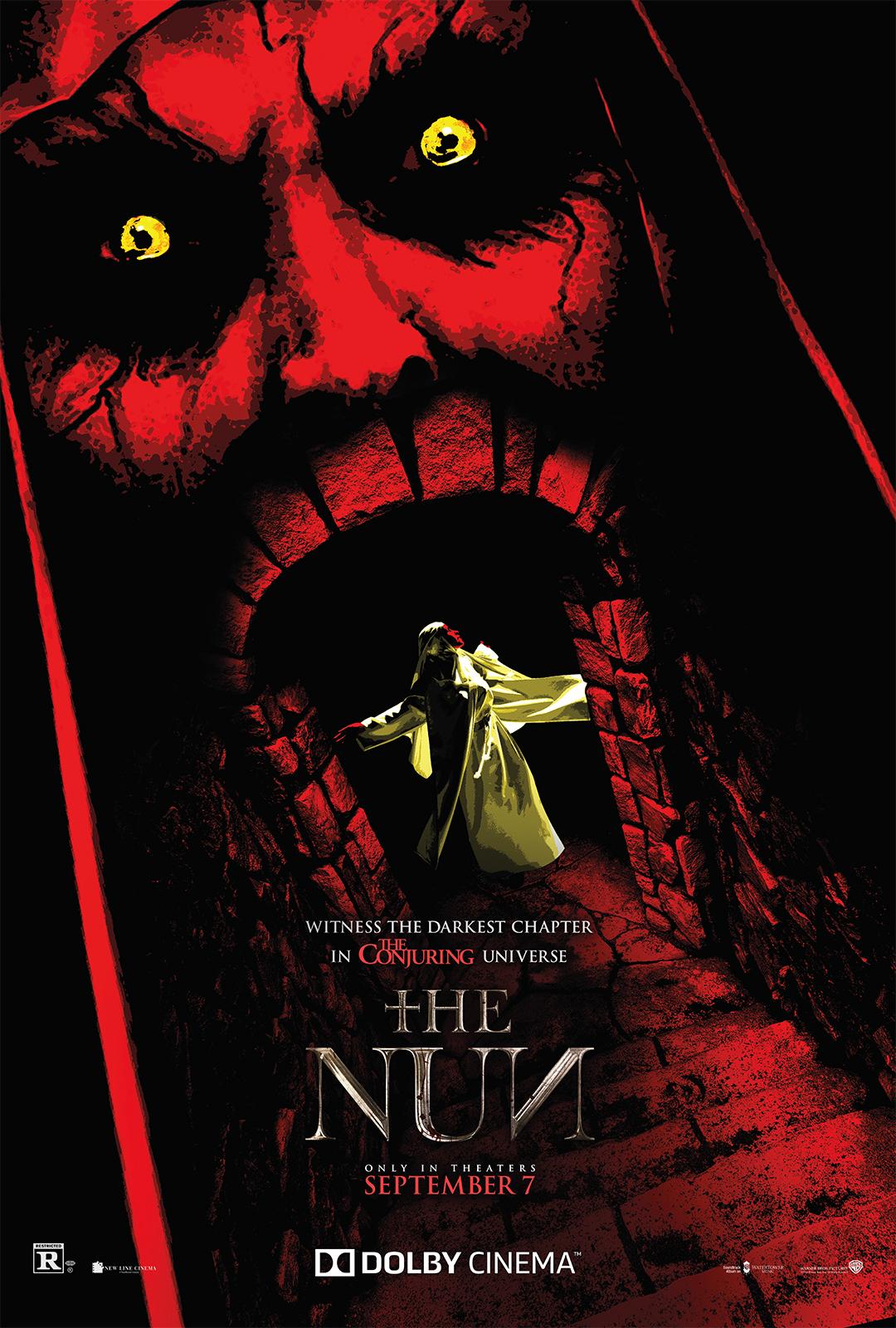 4ca6447cb33e The Dolby Cinema Artwork for  The Nun  Invites You Inside Valak s ...