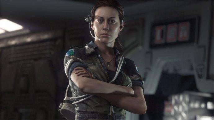 Image result for Amanda Ripley (Alien Isolation)