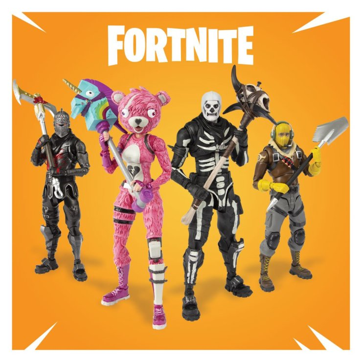 Mcfarlane Toys Reveals Its Fortnite Action Figure Range That