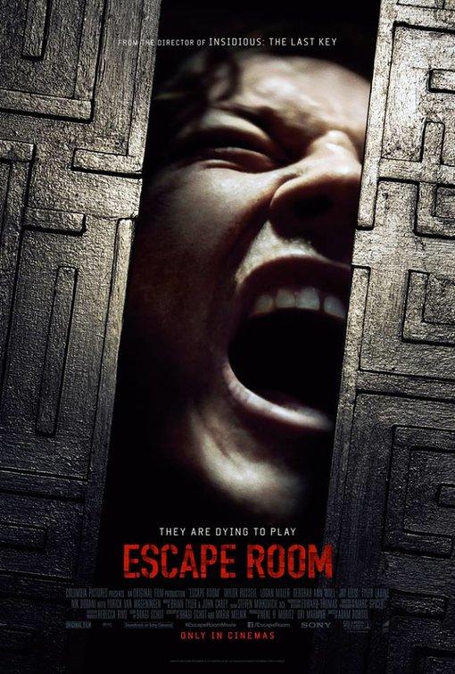 Resultado de imagem para escape room poster