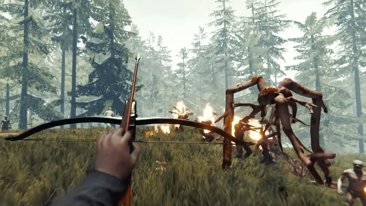 Trailer December Update Adds A Terrifying New Monster To Survival Horror Game The Forest Bloody Disgusting