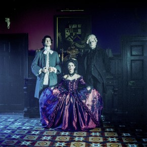 Alexander (Keith Robson) The Infernal Princess (Alexandra Nicole Hume) and Henrich (Jonathan Hansler)