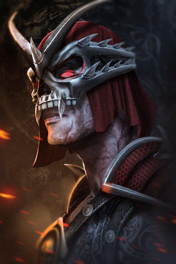 Game - Movie Review: Mortal Kombat: Annihilation (1997 ...  Mortal Kombat Movie Shao Kahn
